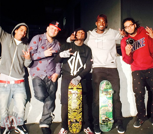 Lil Wayne Chills At Dave & Busters, Attends Rick Ross Album Release Party & Goes Skating