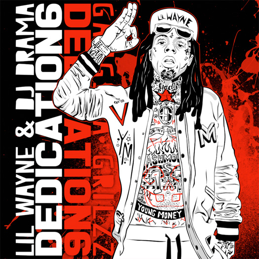 Official Artwork For Lil Wayne & DJ Drama Dedication 6 Mixtape Has Been Released