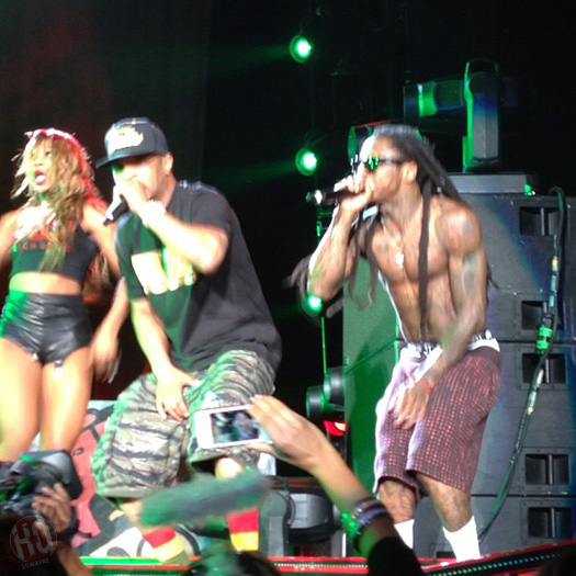 Lil Wayne Performs Live In Denver On Americas Most Wanted Tour