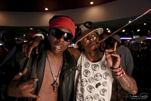 Behind The Scenes Of Lil Wayne & Detail No Worries Video Shoot