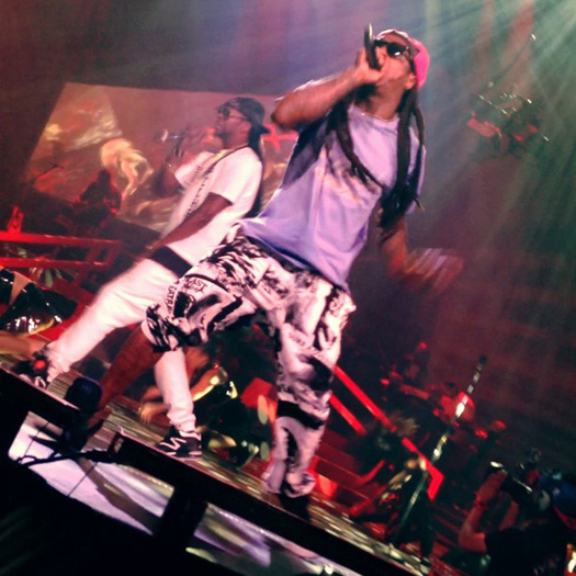 Lil Wayne Performs Live In Detroit On Americas Most Wanted Tour