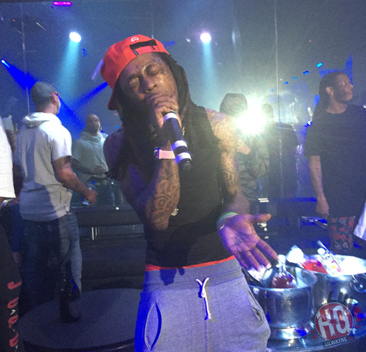 Lil Wayne Disses Young Thug & Rich Gang During Performance At Freelons Bar & Groove