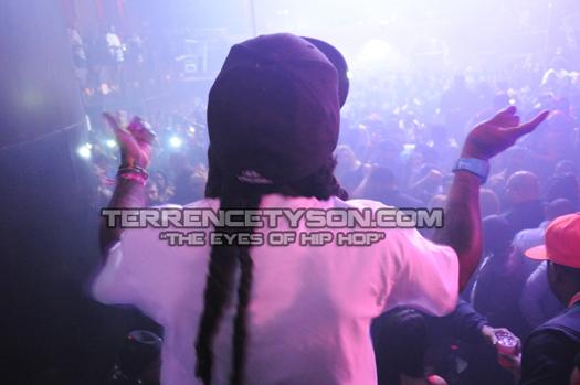 Lil Wayne At DJ Khaleds Birthday Bash In Miami