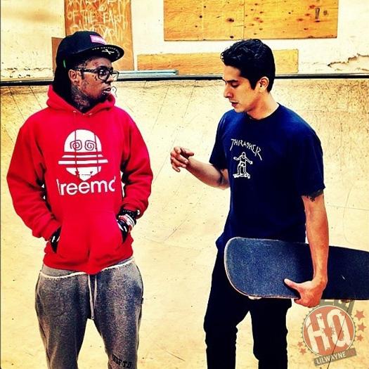 Lil Wayne At Double Rock Skatepark
