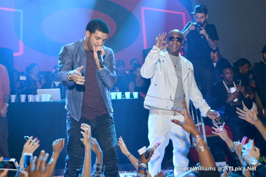 Lil Wayne, Drake & Birdman Attend All-Star Party In Houston