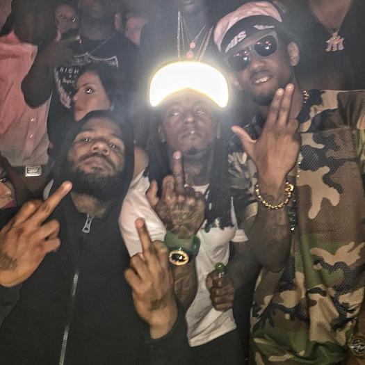 Lil Wayne Games For Ps3 : Lil wayne celebrates drake s birthday at story nightclub