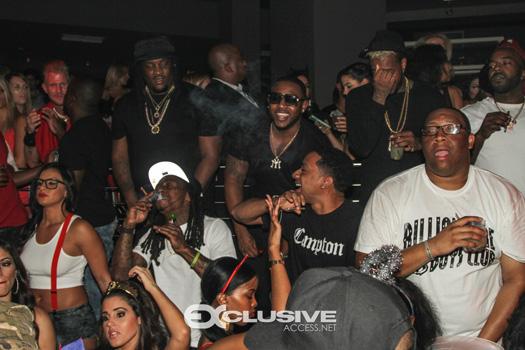 Lil Wayne Celebrates Drake Birthday At STORY Nightclub With The Game & Fabolous