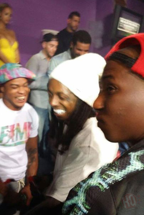 Lil Wayne & Drake Party At Club Cameo In Cincinnati With Deelishis