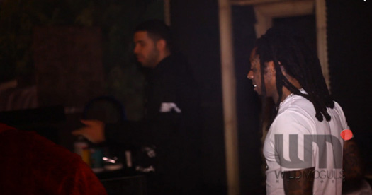 Lil Wayne, Drake & Detail Work On Music At The YOLO Estate