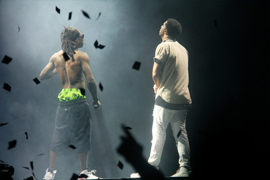 Lil Wayne & Drake Begin Their Joint Tour In Buffalo New York