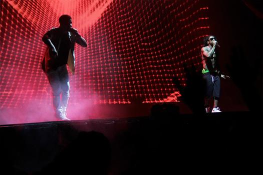 Lil Wayne & Drake Begin Their Joint Tour In Buffalo New York