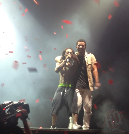 Lil Wayne & Drake Perform Grindin Live For The First Time In Buffalo On Their Joint Tour