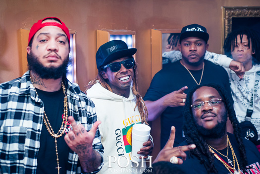Lil Wayne Parties At Dream Nightclub In Miami For Mack Maine Birthday