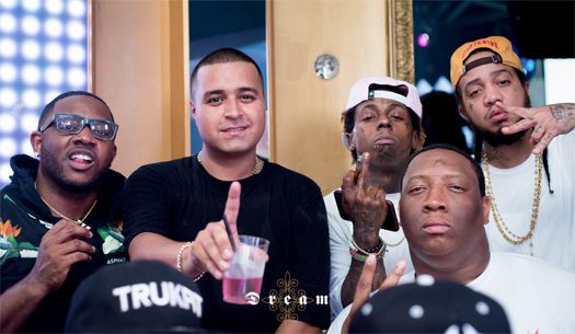 Lil Wayne Attended Dream Nightclub In Miami With Noreaga Over Independence Day Weekend