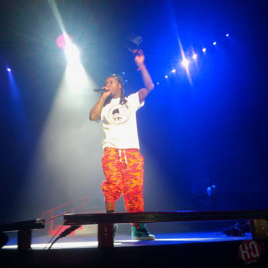 Lil Wayne Kicks Off His 2013 European Tour In Dublin Ireland