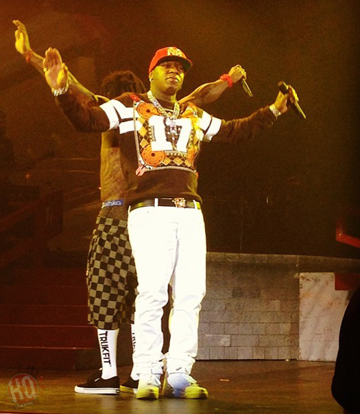 Lil Wayne Performs Live In Dusseldorf Germany On His European Tour