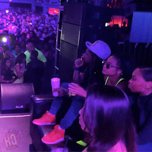 Lil Wayne Attends Echostage In Washington With Christina Milian & Juelz Santana