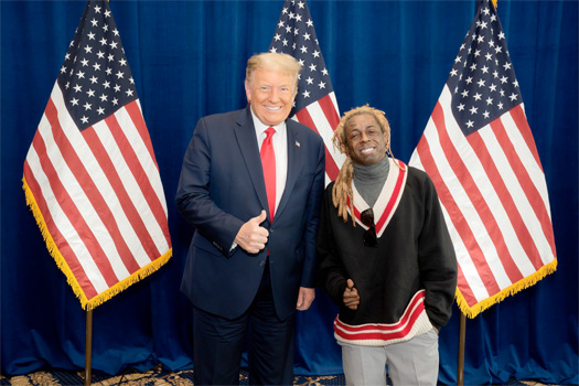 Donald Trump Has Officially Pardoned Lil Wayne