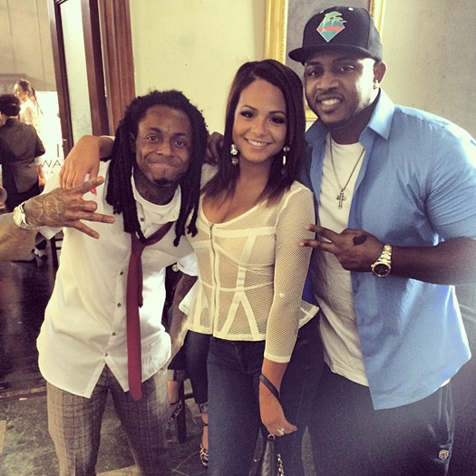 Christina Milian Tells Tim Westwood That Lil Wayne's Beef With Cash Money Is Fixable
