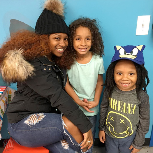 Lil Wayne Daughter Reginae Carter With Brothers Dwayne Michael Carter III & Neal Carter