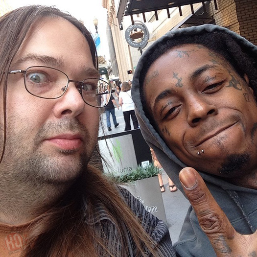 Lil Wayne Meets & Take Pictures With His Fans In Portland