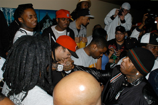Pictures Of Lil Wayne And Friends At His Farewell Party In Miami