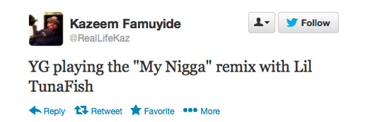 Lil Wayne Will Be Featured On YG My Nigga Remix