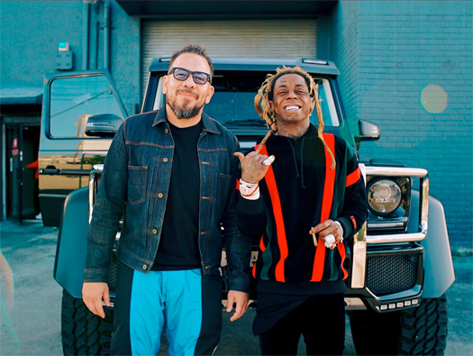 Lil Wayne Films A Car Test Episode With Elliott Wilson