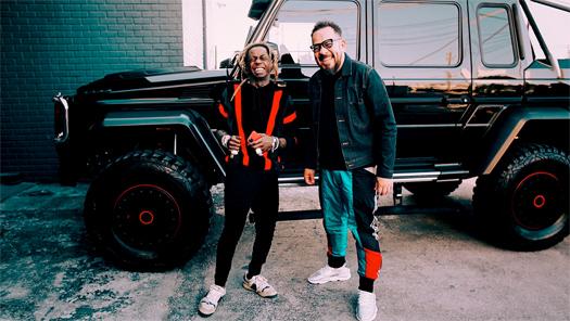 Lil Wayne Films A Car Test Episode With Elliott Wilson