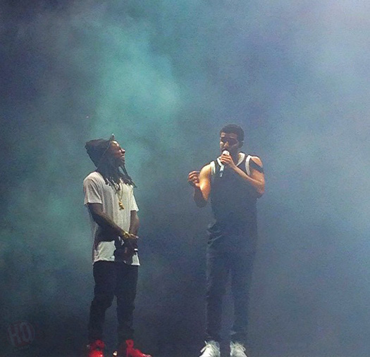 Lil Wayne Performs Live In Forest Hills New York On His Joint Tour With Drake
