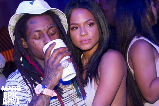 A Camera Guy Asks Christina Milian About Lil Wayne & Then Proposes To Her