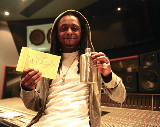 Lil Wayne Makes A Cameo In The Fred Water Flask Kickstarter Video