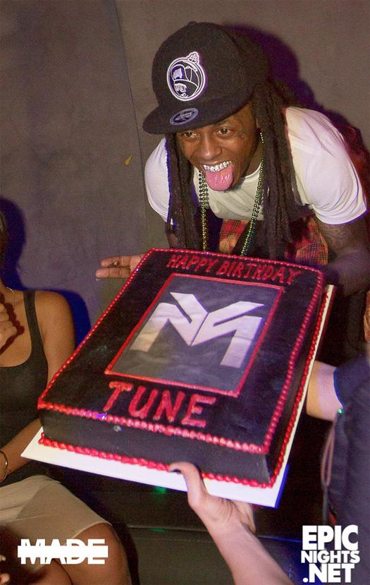 More Photos Of Lil Wayne Celebrating His Birthday With Christina Milian At Lure Nightclub