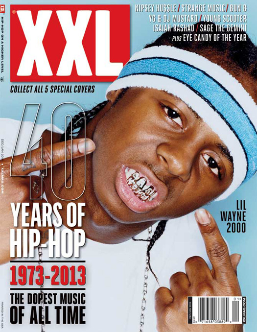 Lil Wayne Appears On The Front Cover Of XXL Magazine Final Issue Of 2013