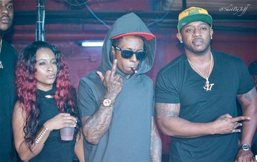 Lil Wayne Gets On The Mic & Says Fuck Cash Money At Aqua Nightclub & Lounge