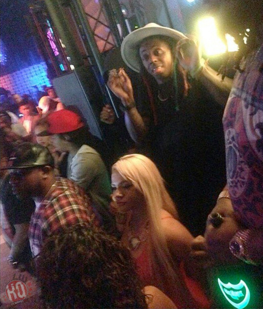 Lil Wayne Attends & Performs Live At GILT Nightclub In Orlando