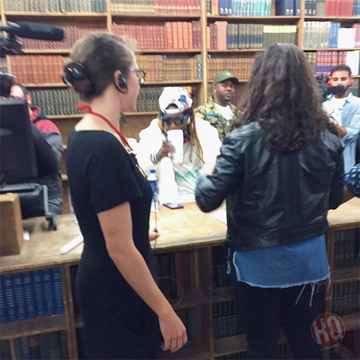 Lil Wayne Attends His Gone Til November Book Signing At Strand Bookstore In New York