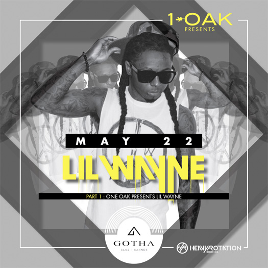 Lil Wayne Is Hosting A Party At Gotha Nightclub In Cannes France