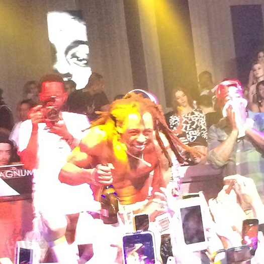 Lil Wayne Performs At Gotha Nightclub In Cannes France