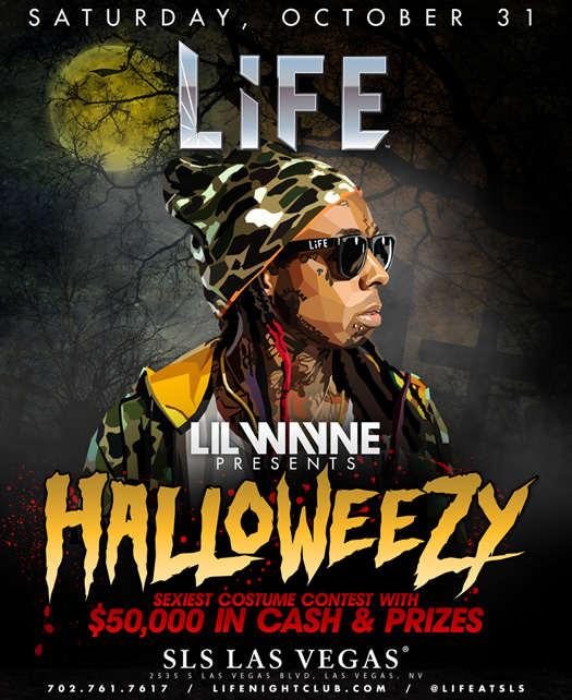 Lil Wayne To Host A HalloWeezy Event In Las Vegas On Halloween