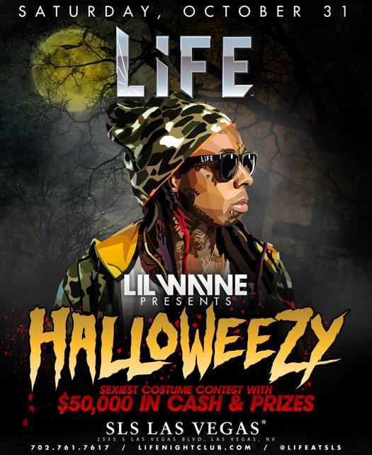 Lil Wayne To Host A HalloWeezy Event In Las Vegas On Halloween