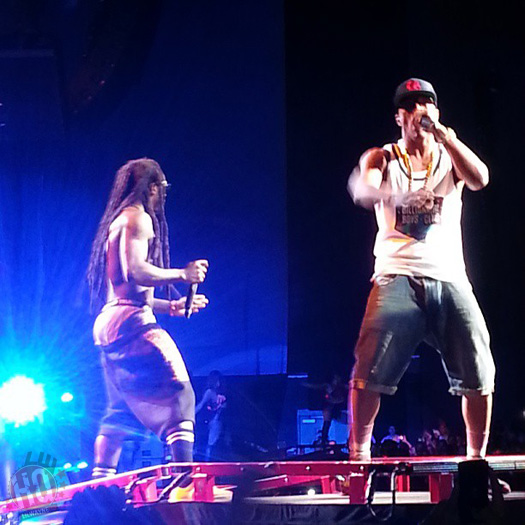 Lil Wayne Performs Live In Hartford On Americas Most Wanted Tour
