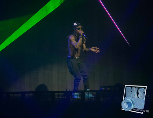 Lil Wayne Performs Live In Hartford Connecticut On His Joint Tour With Drake