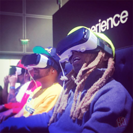 Lil Wayne Has Fun & Freaks Out On A Virtual Reality Roller Coaster Ride At E3 2016