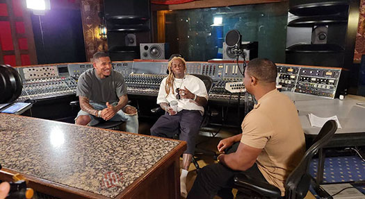 Lil Wayne Has A New Interview On The Way With Darnell Smith & Darren Waller