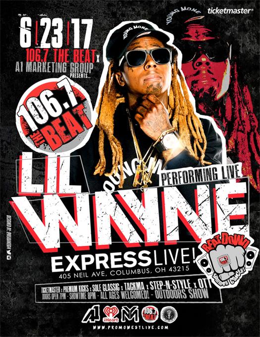 Lil Wayne To Headline 106.7 The Beat Summer Beatdown Concert In Columbus Ohio