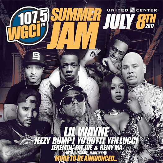 Lil Wayne To Headline 107.5 WGCI 2017 Summer Jam In Chicago