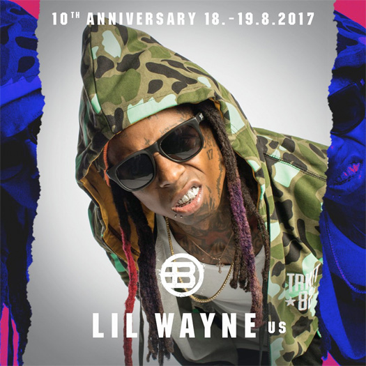 Lil Wayne To Headline The 10th Annual Blockfest Music Festival In Finland