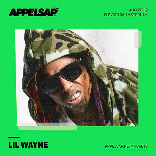 Lil Wayne To Headline The 2017 Appelsap Fresh Music Festival In Amsterdam Netherlands
