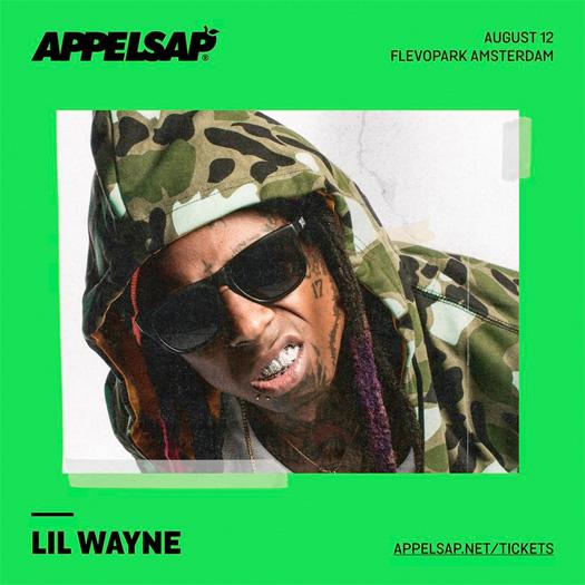 Lil Wayne To Headline The 2017 Appelsap Fresh Music Festival In Amsterdam Netherlands